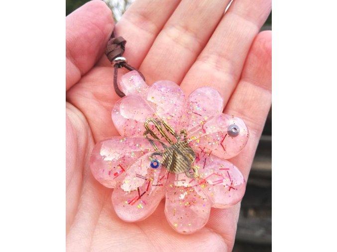 Amulet čtyřlístek malý