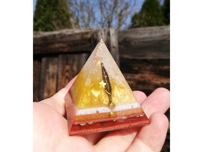 Pyramida posílení 3 čakry