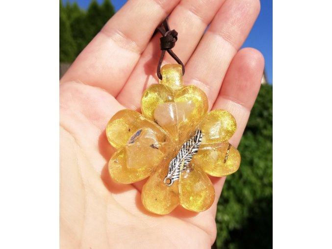 Amulet Růženín čtyřlístek malý