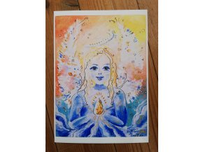 Reprodukce - Duhový Anděl - plakát