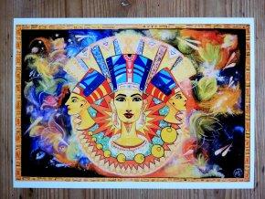Reprodukce - Nefertiti - plakát
