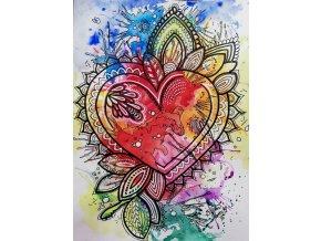 Reprodukce - Srdce - plakát