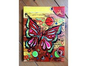 Motýl vnitřní jistoty