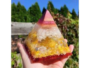 Pyramida mayská sluneční - zemitá