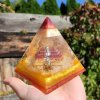 Pyramida mayská sluneční - zemitá 2