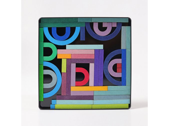Magnetické puzzle Grimms  abeceda