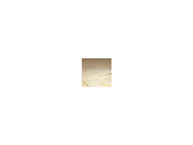 Zbytky barevného včelího voku  20g - bílá