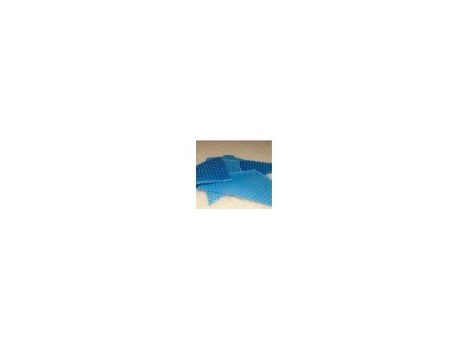 Zbytky barevného včelího vosku  15 g - modrý