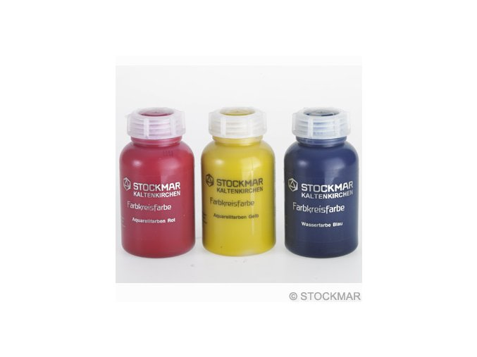 Stockmar akvarelové barvy jednotlivé 250ml