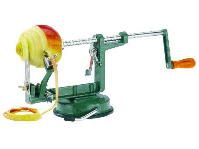 Kráječ a loupač jablek s přísavkou