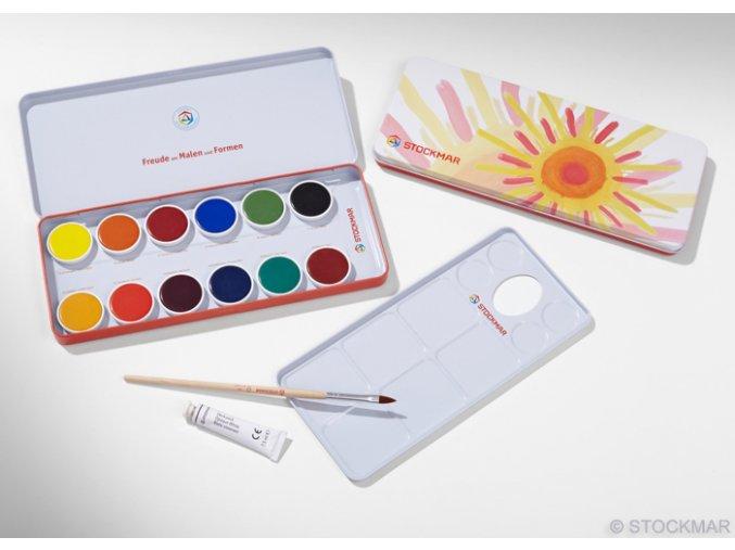 Stockmar opakní akvarelové barvy