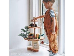 stojan na dekorace ročních dob Grimms