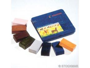 Voskové bločky doplňkové barvy Stockmar