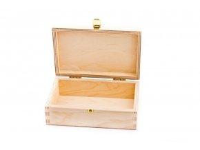 krabička an voskovky dřevěná