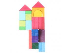 Dřevěná stavebnice geometrické tvary GR10130