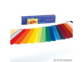 Včelí vosk dekorační směs 18 barev