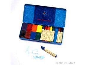 Sada voskovky+bločky Stockmar 8+8 kusů