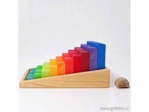 Kostky na počítání montessori