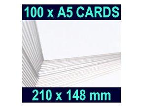 Bílý papír A5 100 ks