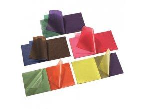 transparentni papir barevný 10 ks, 18,5 x 29,7 cm