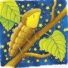 Dřevěné puzzle nučné - vyvoj motyla GOKI