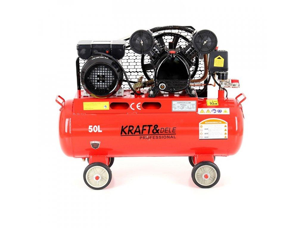 kompresor olejowy 50l 2 tloki kd403