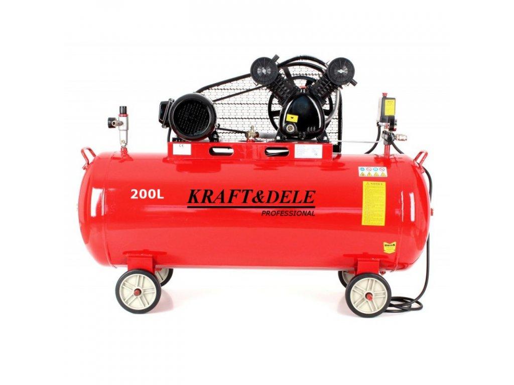 kompresor olejowy 200l kd1473