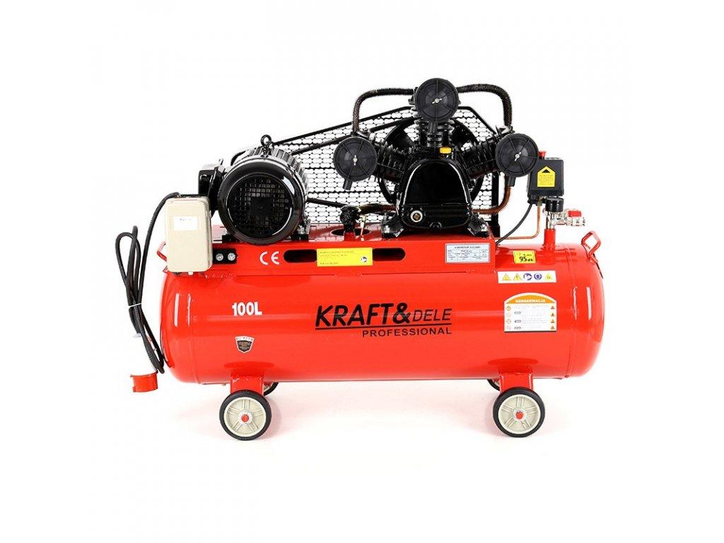 kompresor olejowy 100l 3 tloki kd405