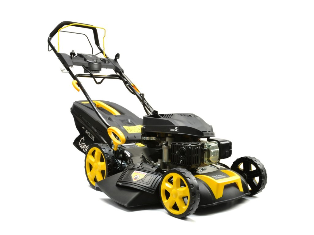 Sekačka na trávu s pojezdem, el. start, benzínový motor 6,75 HP, Geko G83052