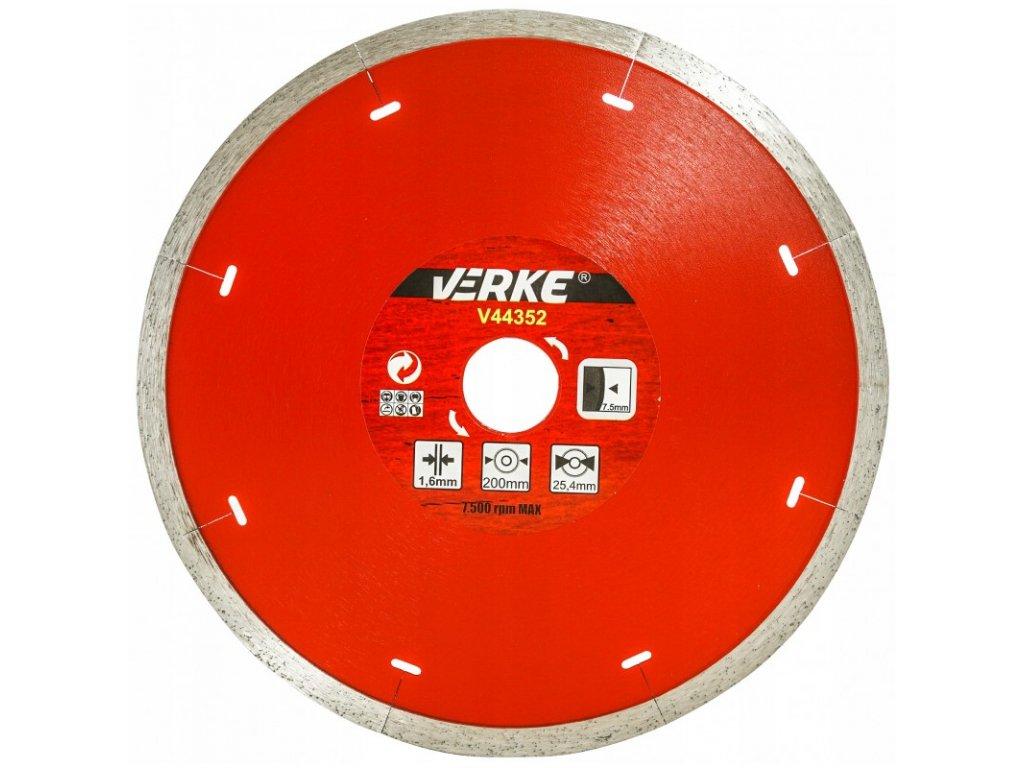 tarcza diamentowa do plytek ceramicznych 200 mm 16 mm verke 1