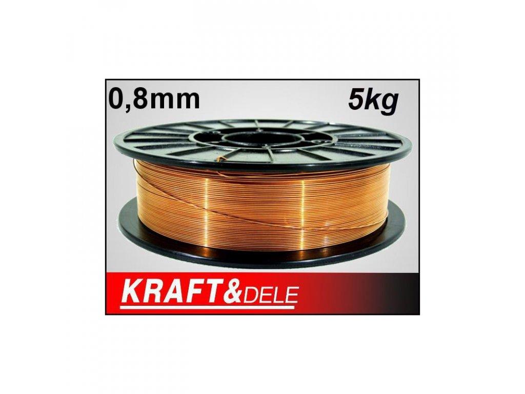 drut spawalniczy 08 mm 5kg miedziowany nierdzewny (1)