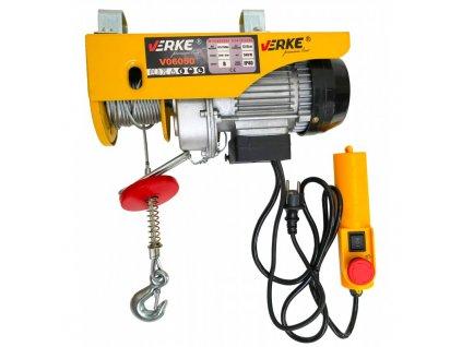 wyciagarka wciagarka elektryczna linowa 250125 kg verke