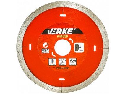 tarcza diamentowa do plytek ceramicznych 125mm 12mm verke 1