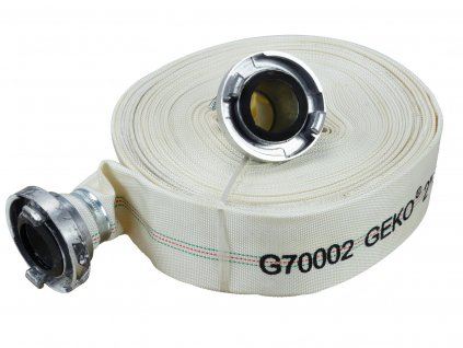 "Požární hadice 2"", 30m, s koncovkami, Geko G70002"