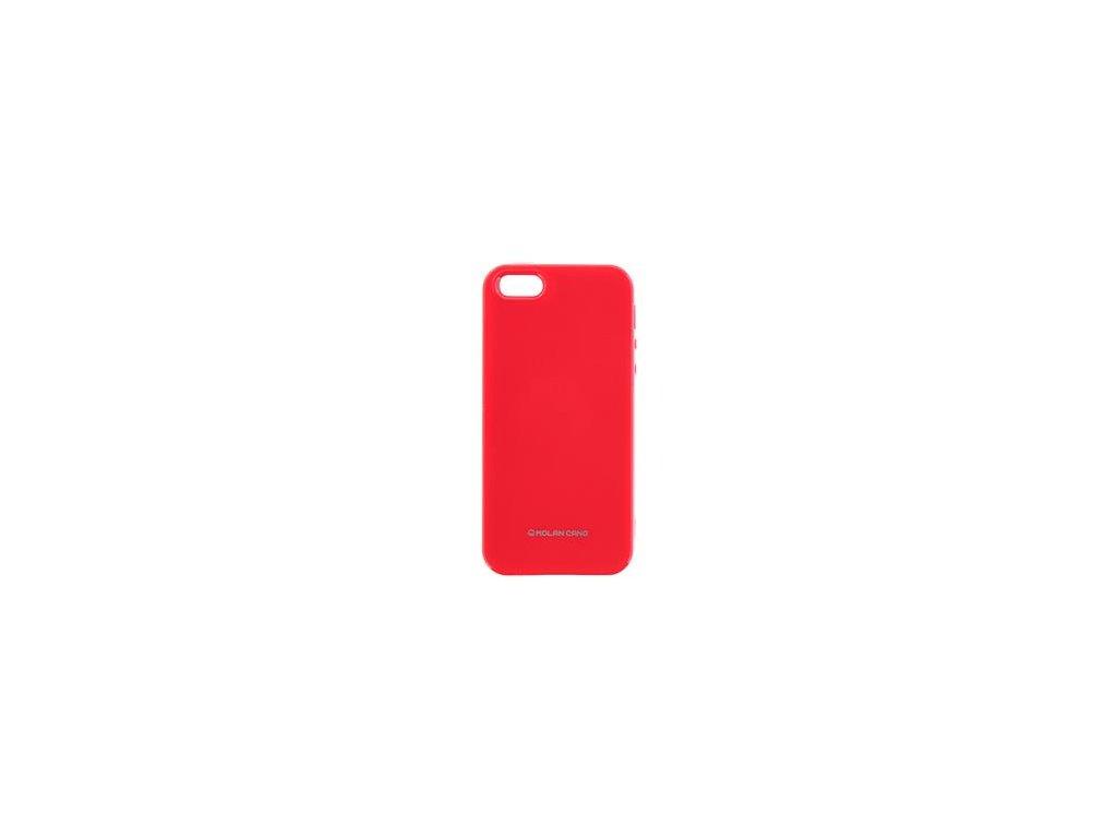 Molan Cano Jelly TPU Pouzdro pro Samsung J330 Galaxy J3 2017 Hot Pink
