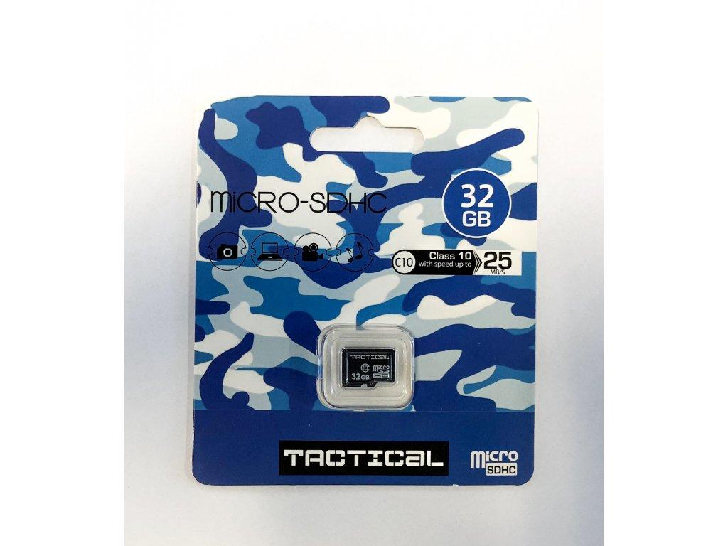 Paměťová karta Tactical 32GB microSDHC Class 10 wo:a