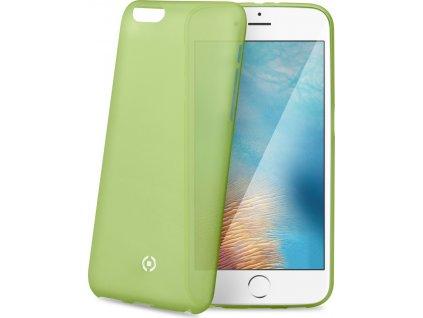 Ultra tenké TPU pouzdro CELLY Frost pro Apple iPhone 7 Plus/8 Plus, 0,29 mm, zelené