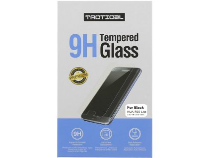 tactical glass huawei p20 lite black 01