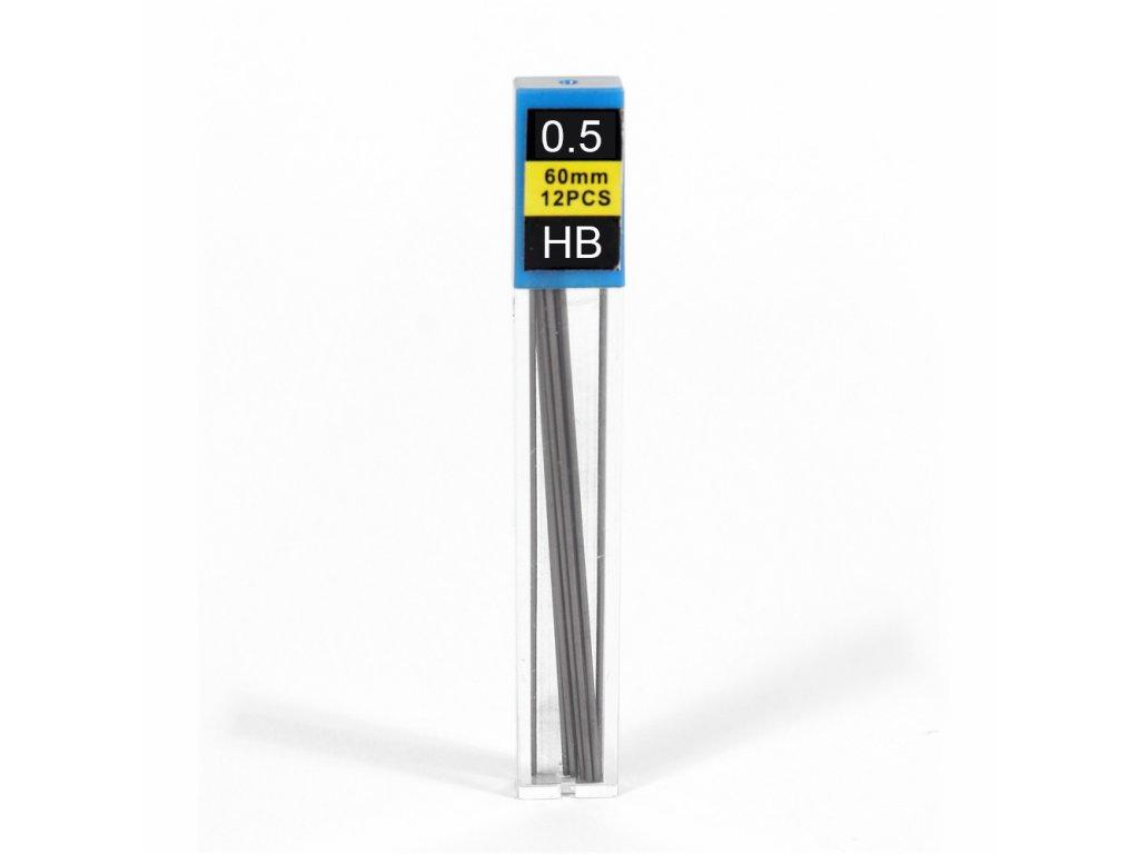 Náplň do mechanickej ceruzky 0,5 HB 12ks