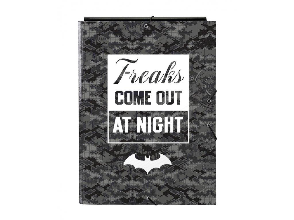 Batman (Night) obal s gumkou A4