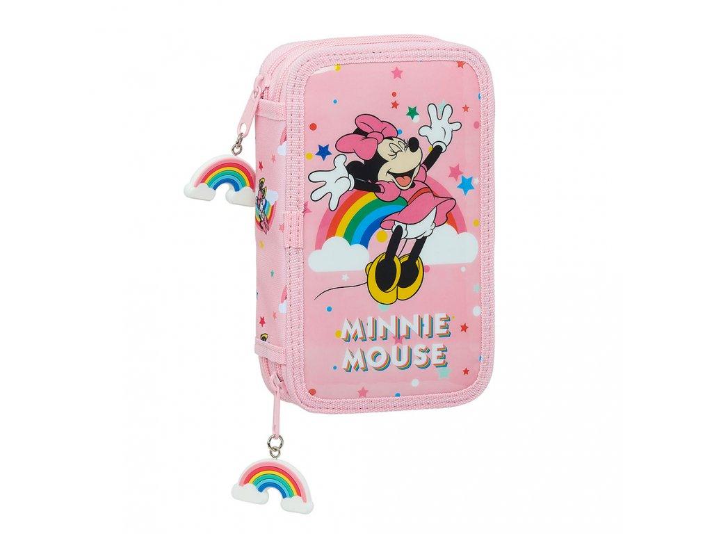 Minnie Mouse (Rainbow) peračník dvojitý plnený