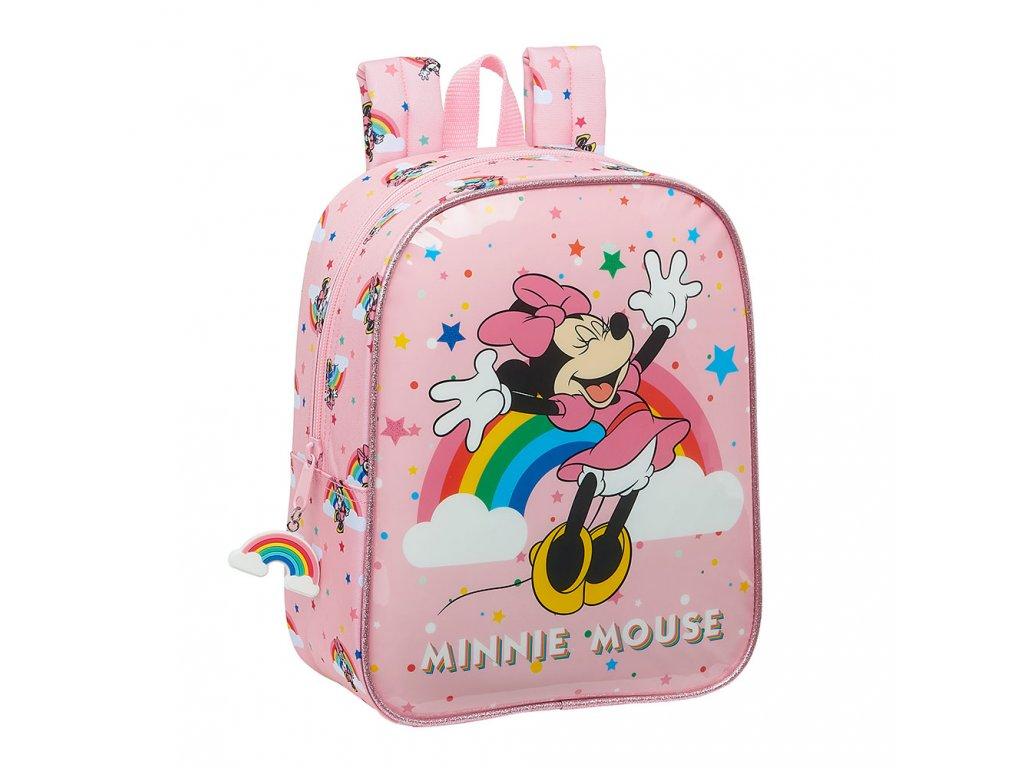 Minnie Mouse (Rainbow) batoh 22