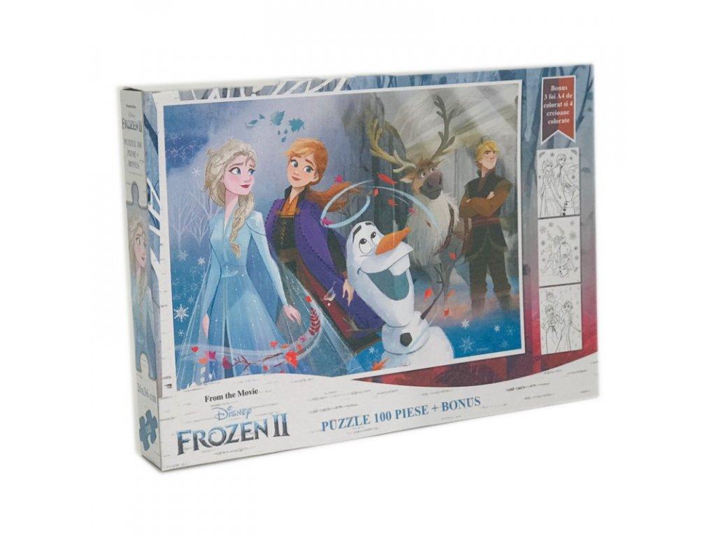 Frozen 2 (R) puzzle 100ks kreslené