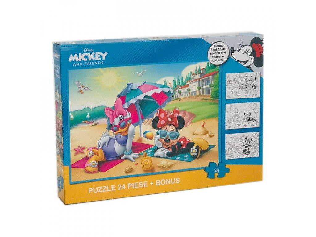 Minnie Mouse (R) puzzle 24 ks Pláž