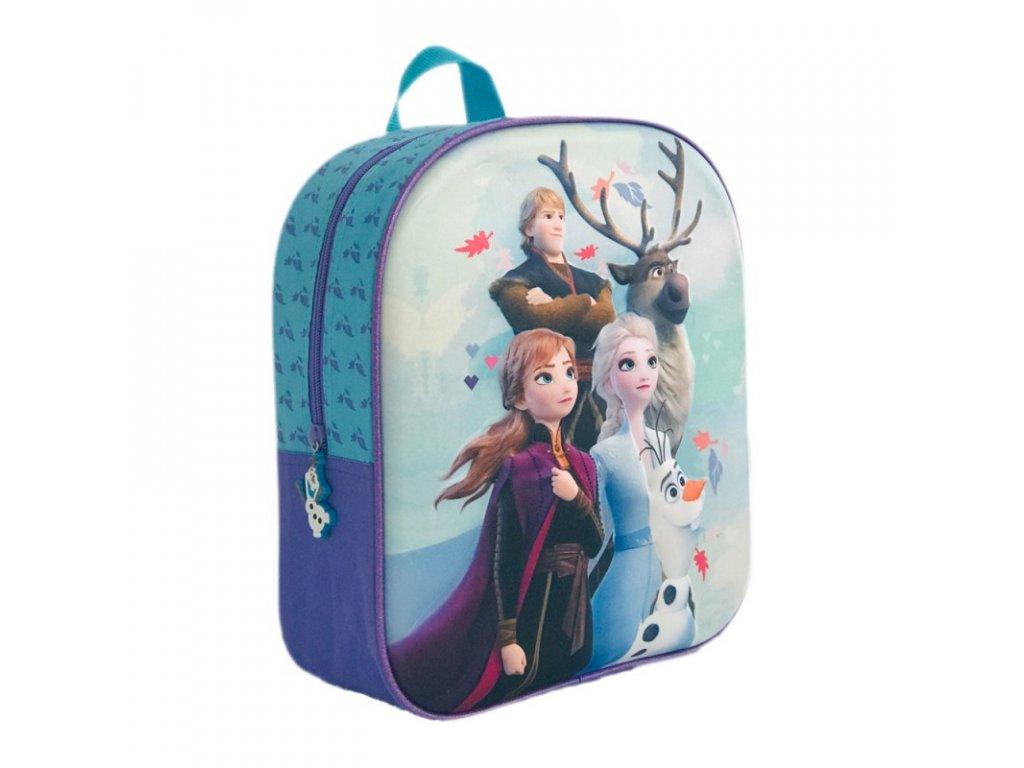 Frozen 2 (R) batoh 29 3D modrý