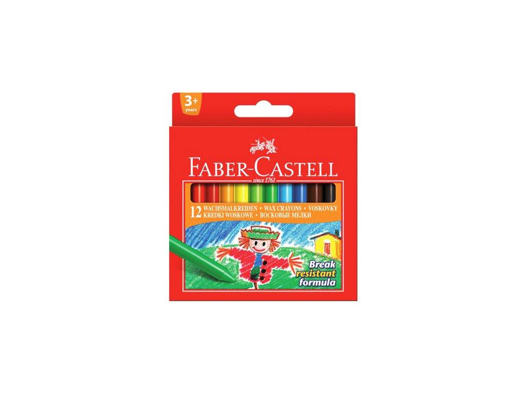 Faber-Castell Voskovky guľaté set 12 farebné