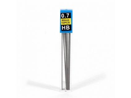 Náplň do mechanickej ceruzky 0,7 HB 12ks