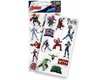 Avengers (LG) nálepky penové 12ks