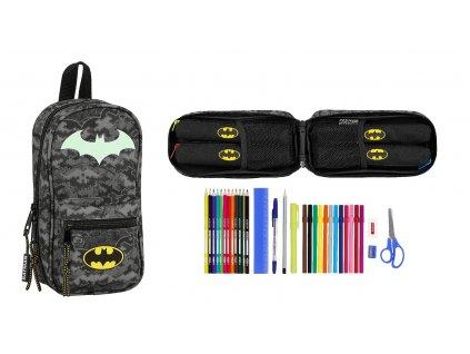 Batman (Night) púzdro s plnenými peračníkmi