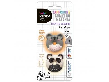 Guma voňavá 2ks koala/panda (D)